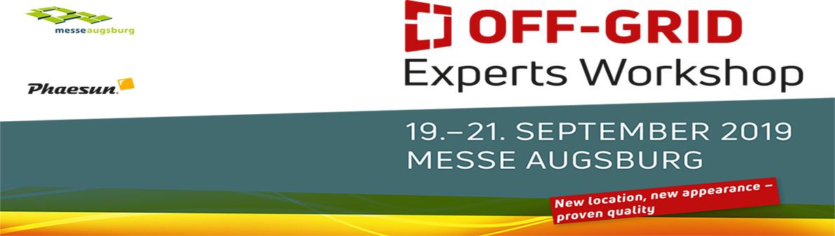 OFF-Grid Expert Workshop