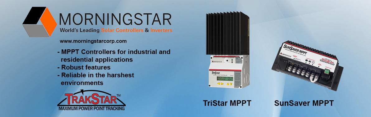 Morningstar Solar Controllers & Inverters