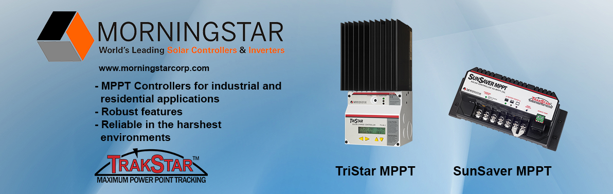 Morningstar Solar Controllers & Inverters