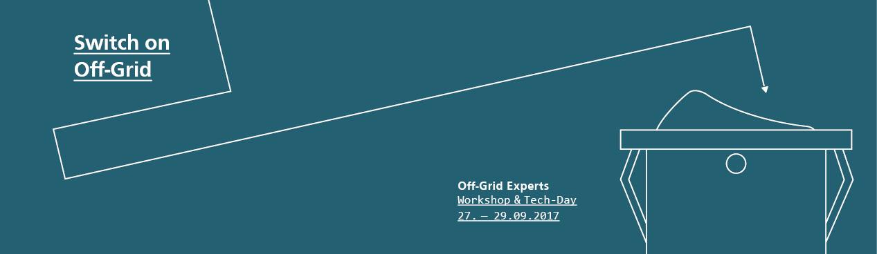 Off-Grid Experts Workshop 2017