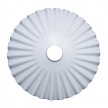 E27 Lamp Shade Elios White