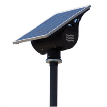 Streetlighting Kit Globe Black 30W