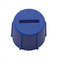 Terminal Cap - Blue For DIN Starter Batteries (Passenger Cars)