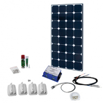 SPR Caravan Kit Solar Peak Eight 1.0 110 W | MPPT