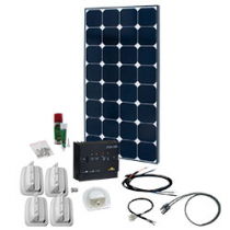 SPR Caravan Kit Solar Peak Two 5.0 110 W