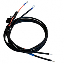 Battery Cable With 30A Fuse No Clamp, With Ring Terminal M8