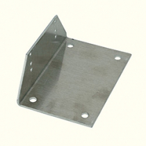 Aluminium Angle Bracket Set MHA 1 (4 Brackets And 8 Tapping Screws)