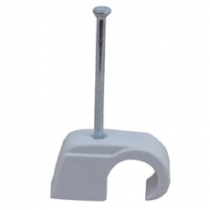 Adhesive Clip With Nail HHC1014 (100-Pack)