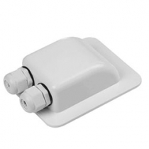 Roof Duct Water Proof Two White
