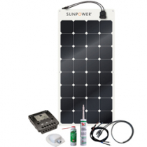 Energy Generation Kit Sunpower SPR-E-Flex 110W/12V